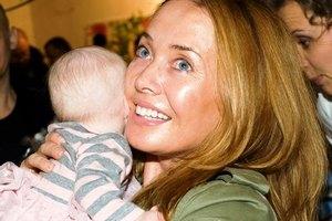 Жанна Фриске встретилась с сыном