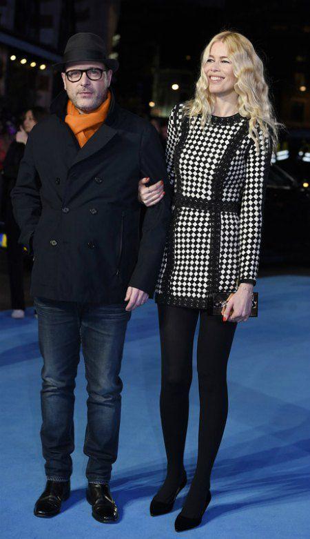 Шиффер с супругом, британским режиссером Мэттью Воном
