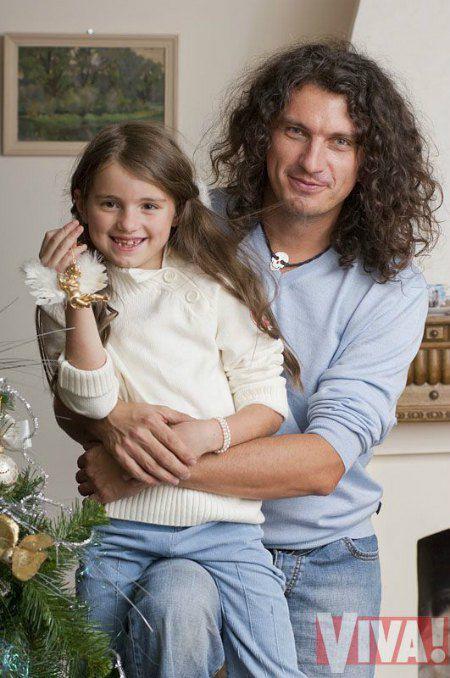 Кузьма з дочкою Барбарою