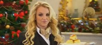 Бритни Спирс стала официанткой