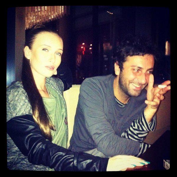 """Иванна с другом отдыхает в """"Radisson Hotel Tibilisi"""" (октябрь 2012)"""