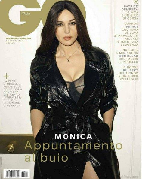 Моника Белуччи на обложке свежего GQ