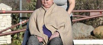 Журналисты снова засняли тяжелобольную Жанну Фриске