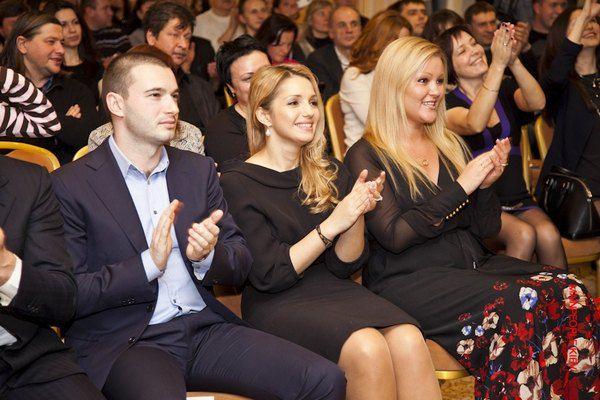 Артур Чечеткин и Женя Тимошенко на благотворительном аукционе