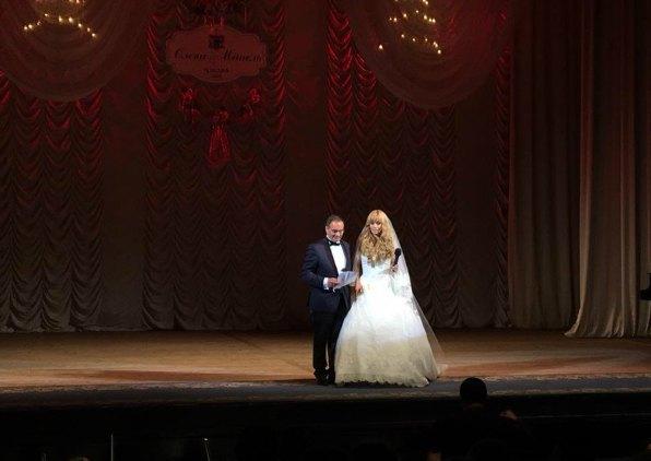 Мишель Терещенко и Елена Ескина выбрали для семейного торжества зал консерватории
