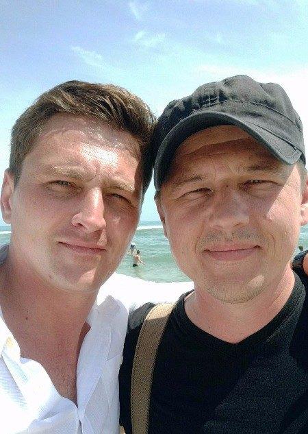 Вячеслав Довженко и Андрей Шараскин