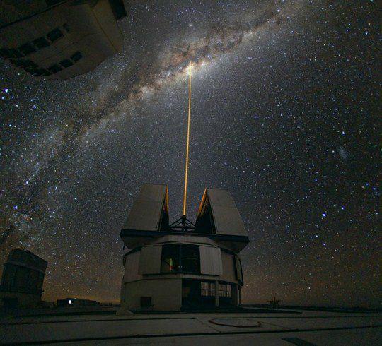 Юрий Белецкий? «Паранальская обсерватория. Чили»