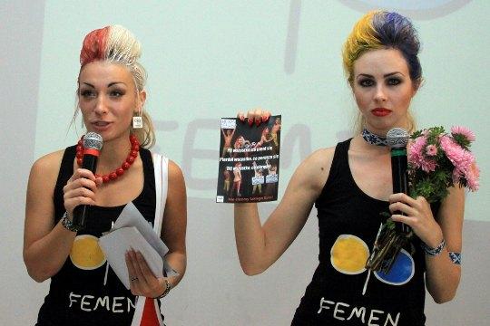 FEMEN в Польше