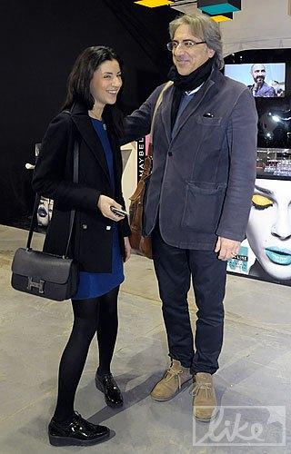 Дизайнер Светлана Бевза и владелец компании Maas Market Маурицио Аскеро
