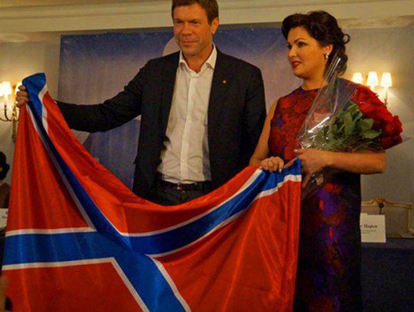 Анна Нетребко и Олег Царев