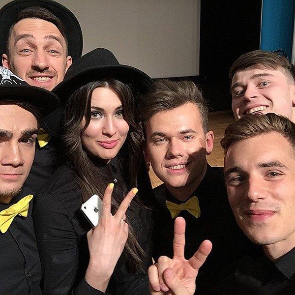 Вадим Олейник и The Pringles