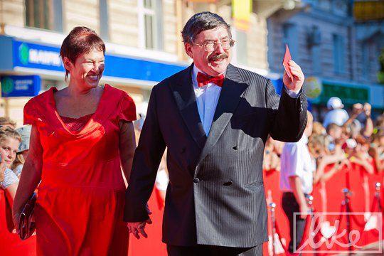 Борис Бурда с супругой