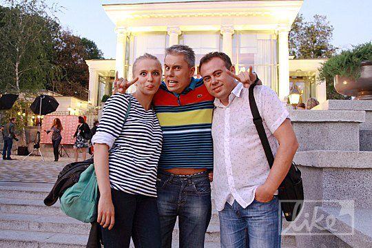 Лика Бугаева, Андрей Доманский и Сергей Юрченко