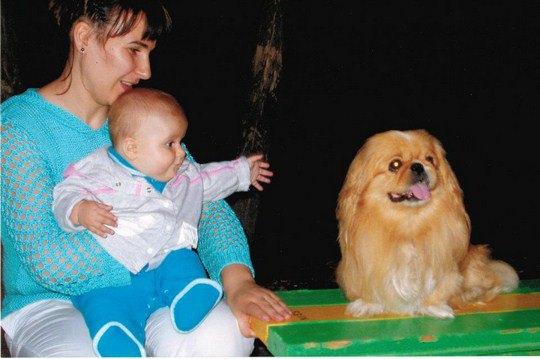 Росита и маленькая Владислава