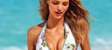Эрин Хитертон снялась в рекламе купальников