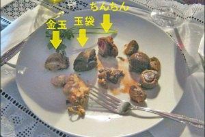 Японец приготовил свои гениталии клиентам ресторана
