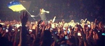 Джаред Лето размахивал украинским флагом на концерте в Киеве