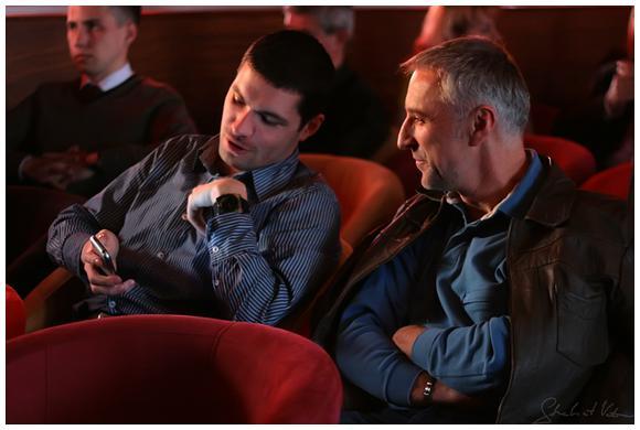 Анатолий Ярема (справа) с парнем