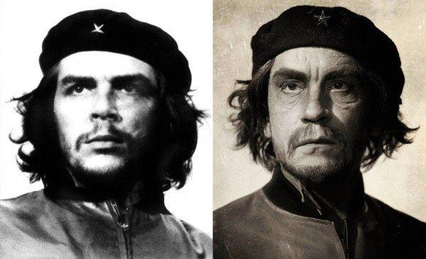 Джон Малкович в образе Че Гевары