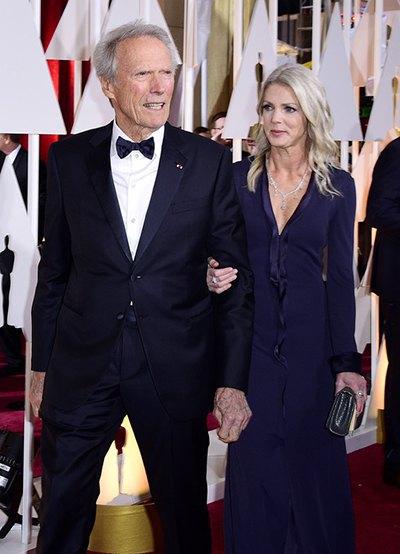 Клинт Иствуд и Кристина Сандера
