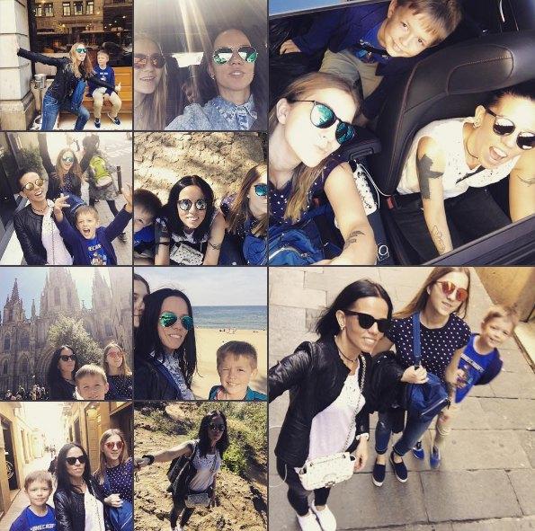 Ирина Горовая в отпуск ездит с дочкой от первого брака и сыном Потапа, но без него самого
