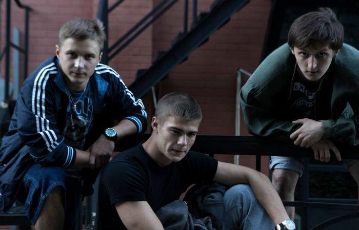 Шрам (Максим Самчик) із друзями