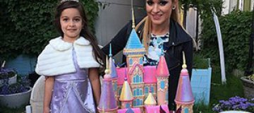Ксения Бородина устроила сказку на день рождения дочери