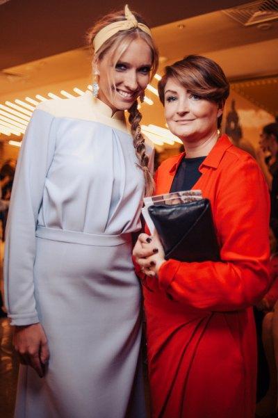 Катя Осадчая и Ирина Данилевская