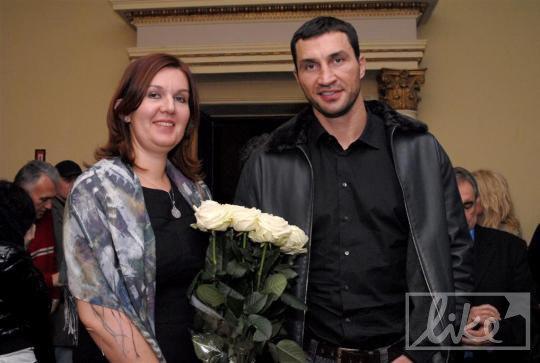 Марина Лопатенюк и Владимир Кличко
