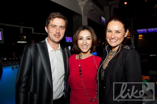 Dj Паша с женой и именинницей