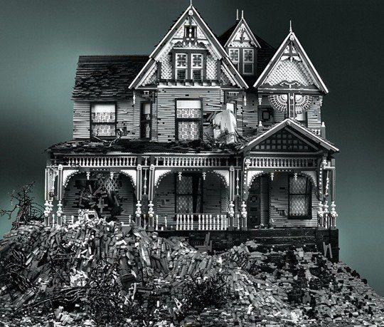 Викторианский лего-дом. Майк Дойл