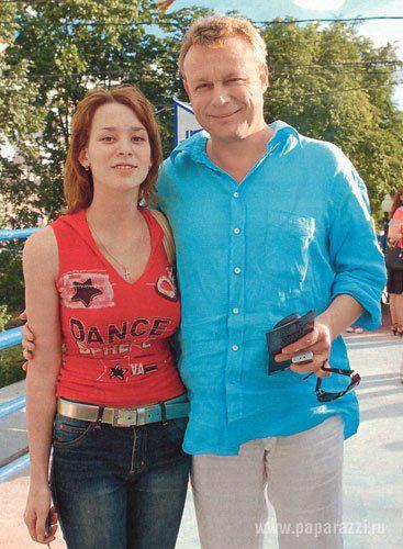 Сергей Жигунов с дочерью Машей