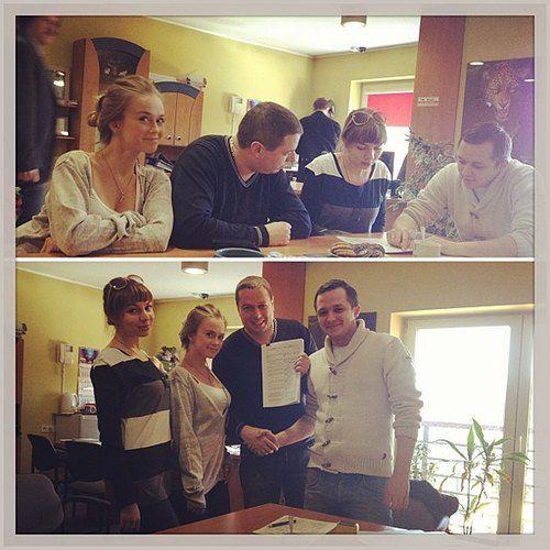 Лавика подписала новый контракт