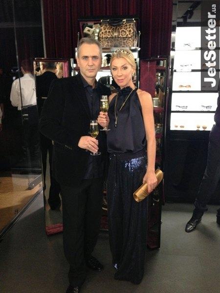 Дизайнер Ольга Громова с супругом Саймоном Джекмэном