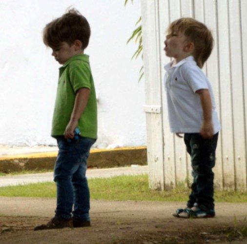 Мальчики-близнецы Рики Мартина