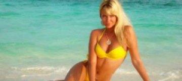 Подружка Топалова разделась на Мальдивах