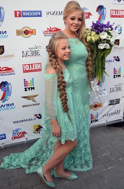 Виктория Петрик с сестрой Настей