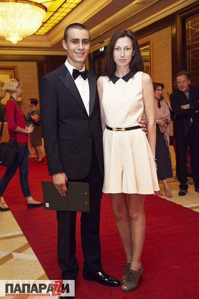 Карим Арфуш со своей девушкой