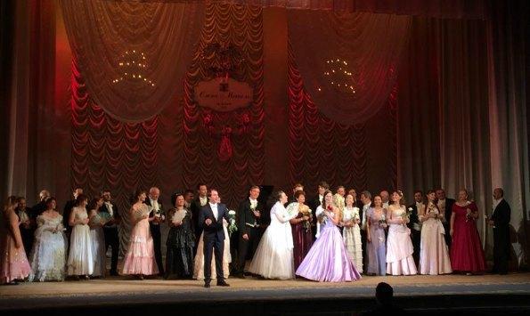 Оперные артисты спели молодым заздравную?