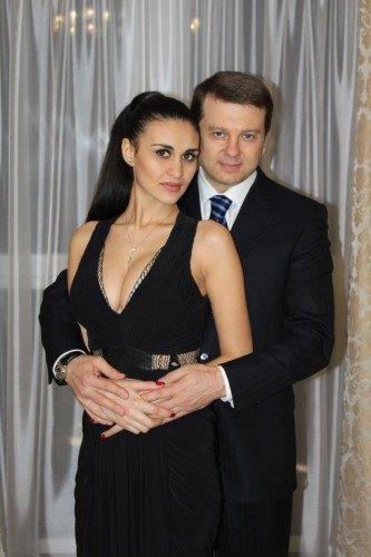 Тимофей Нагорный с женой Ренатой