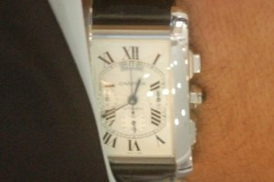 У министра экологии часы за $25 тыс.