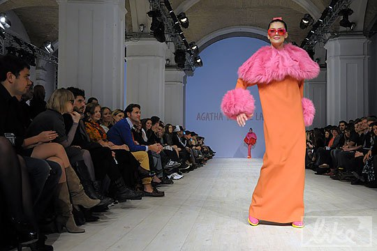 Показ Agatha Ruiz de la Prada на EuroFashion