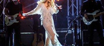 Тина Кароль сыграла два концерта подряд в Одессе
