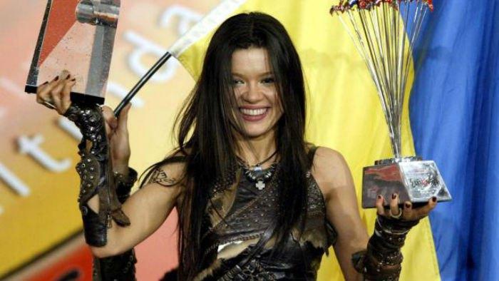 Руслана выиграла песенный конкурс Евровидение-2004
