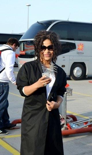 Гайтана прилетела в Баку 14 мая