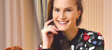 Украинская топ-модель Алла Костромичева родила сына