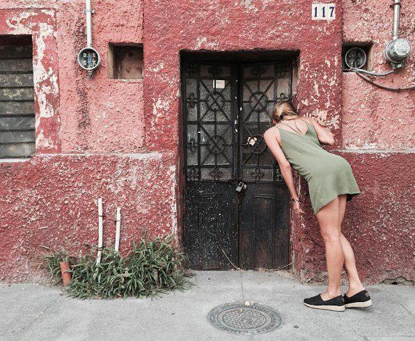 """Регина в Мексике, где, по ее словам, """"в воздухе парит секс"""""""