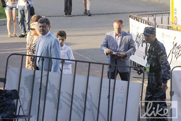 Политик Петр Порошенко с семьей, Оксана Билозир