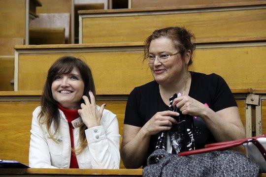 Депутат БЮТ Ольга Боднар встретилась с однокурсниками
