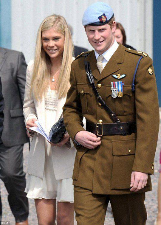 Принцу Гарри и Челси Дэйви пророчили брак